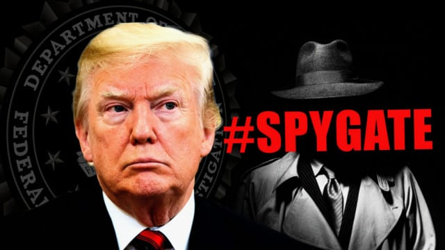 """Spying On Trump – the questions are never ending in """"Spygate"""""""