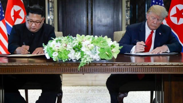 Donald Trump Convinced Kim Jong Un to Sign an Agreement on Denuclearization
