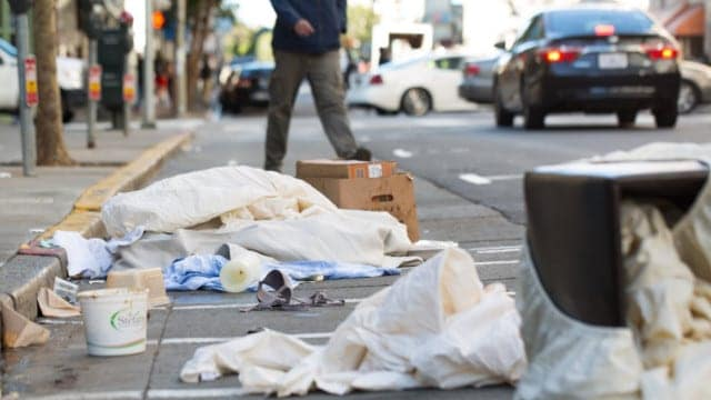 About those human feces on the streets of San Francisco…
