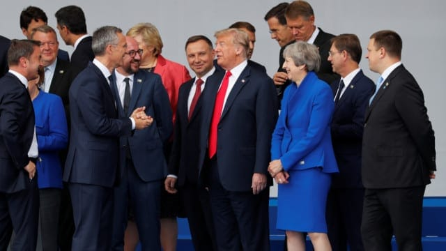 Trump's Aggressive Shuttle Diplomacy; In Search of the Eurasian Border