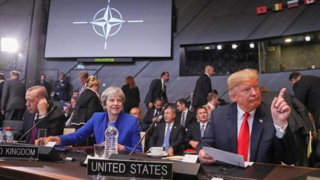 NATO Takes Orders from Commander-in-Chief and Vanguard – Trump