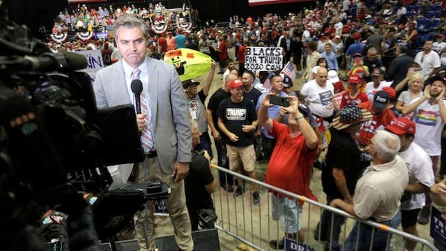 Trump Fans Felt Accosted By Acosta….The Media Heckler Was Heckled