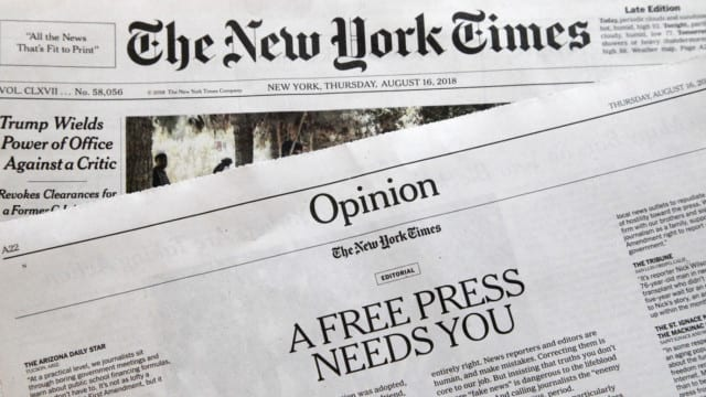 The Power of the Press or Why Fake News is a Big Deal