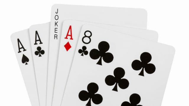 Feinstein Shuffle: Two Card Monte or Aces and Eights?