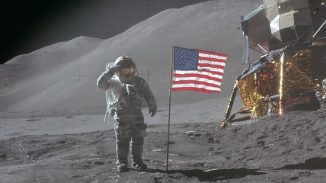 AMERICA put a Man on the Moon, NOT the World