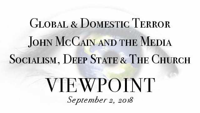 ? Global & Domestic Terror, McCain and the Media, The Deep State Is Restless