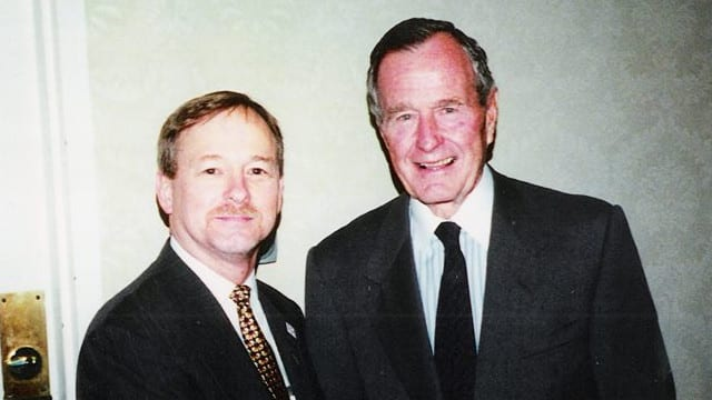 The George H. W. Bush That I Knew, Five Minutes That Would Last a Lifetime