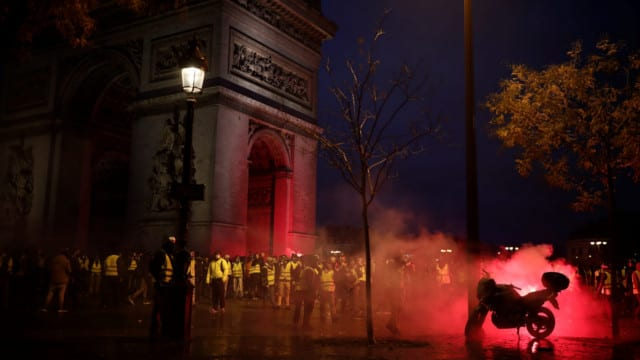The Social and Economic Collapse Happening in France Prove That Macron is an Imbecile