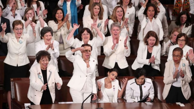 Shame to the Women in White