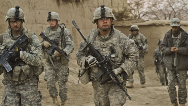 ? Warrior Cop Trades Texas Beat For Afghanistan