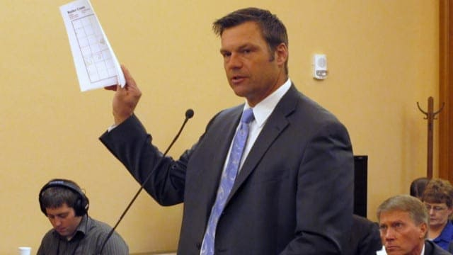? Voter Fraud & We Build the Wall, with Kris Kobach