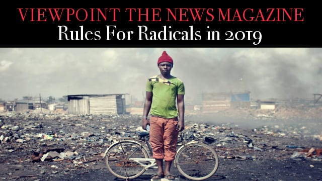 ? Rules For Radicals In 2019 – Viewpoint The News Magazine
