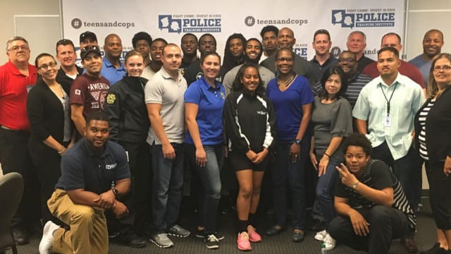 ? Career Cop Creates Training Program for Cops and Kids