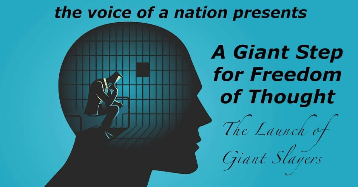A Giant Step for Freedom of Thought