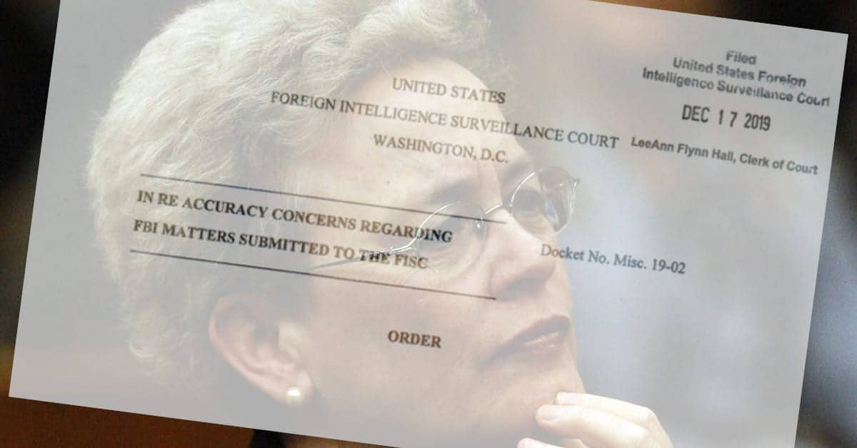 While the Secretive FISA Court Rebuked the FBI – The Court has its own Problems