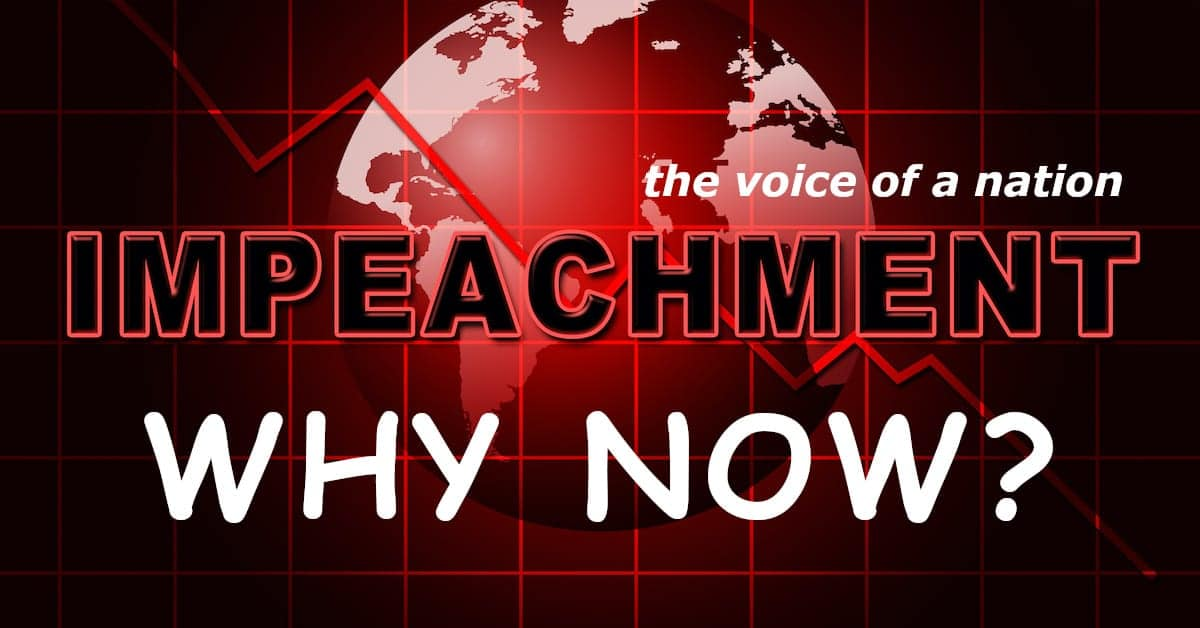 What's The Real Reason Behind The Impeachment?