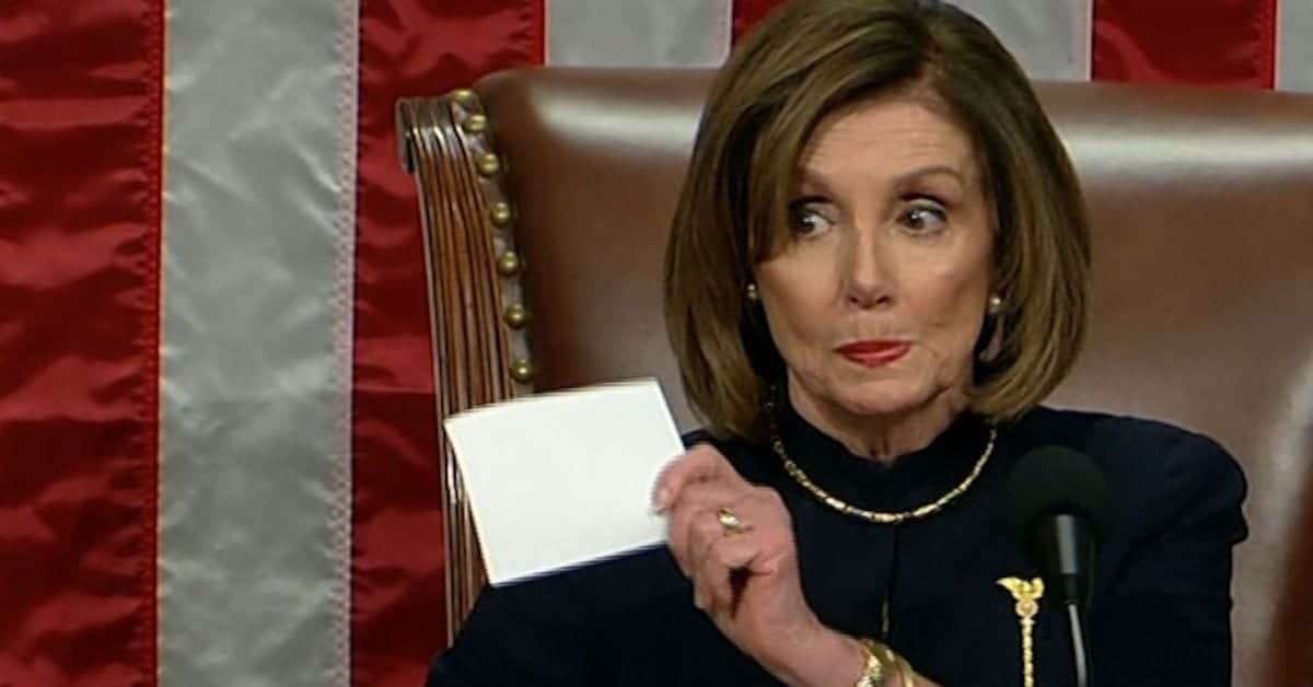 So, Pelosi, What's The Next Step?
