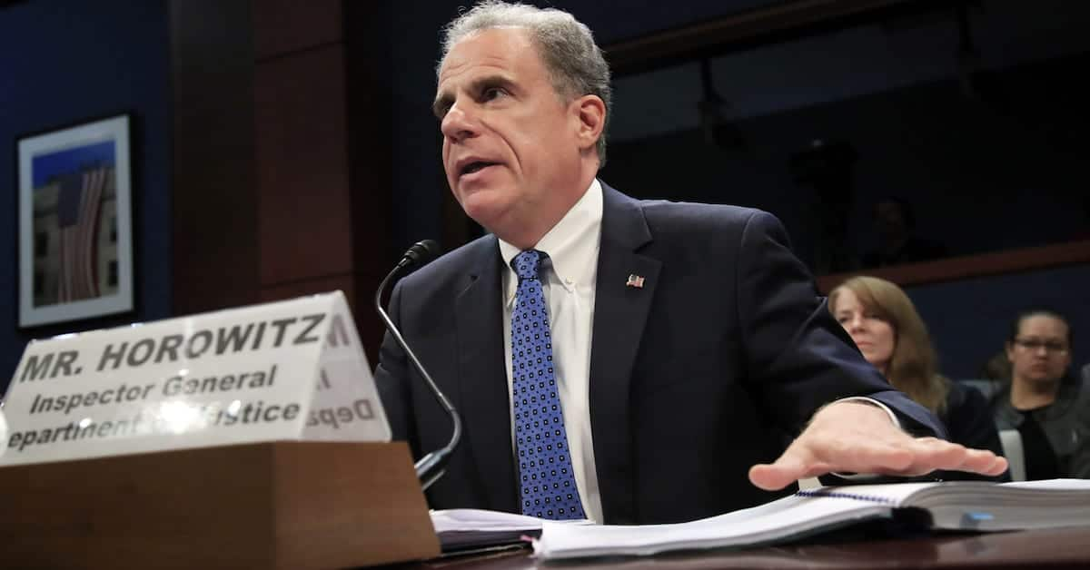 """AG Barr: """"The Inspector General's Report reflects a clear abuse of the FISA process."""""""