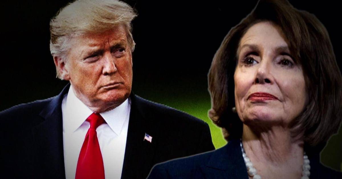 Pelosi has just given the best Christmas gift ever to President Trump!