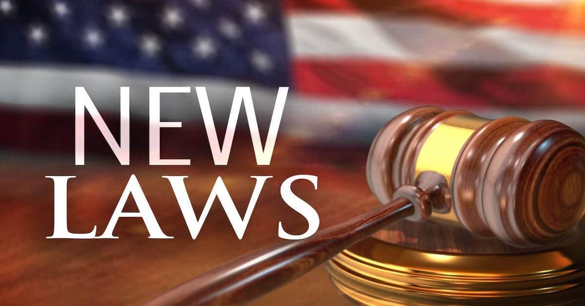 ? New Laws in 2020
