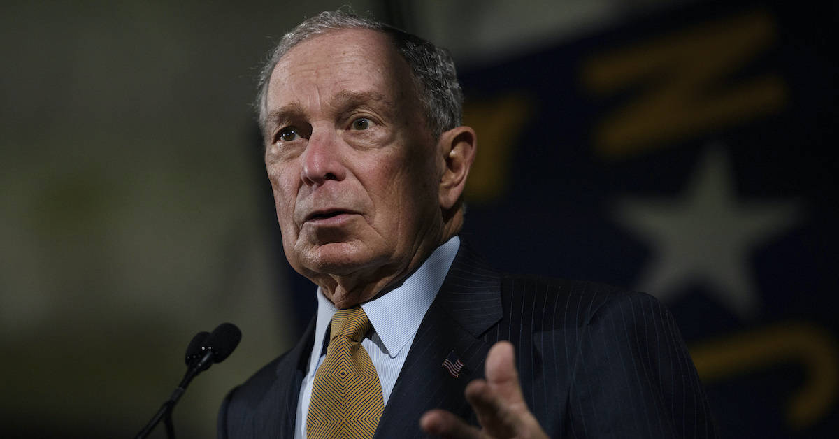 ? Bloomberg's Foot and Mouth Disease