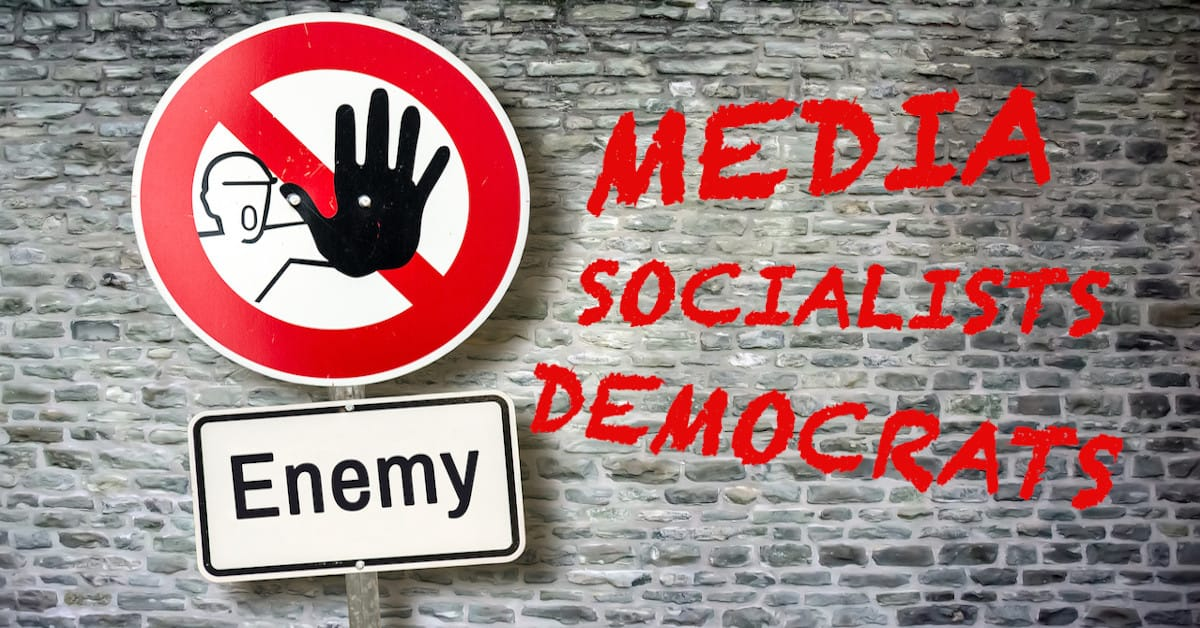 Democrats and News Media Relentlessly Side With Enemies of the U.S.