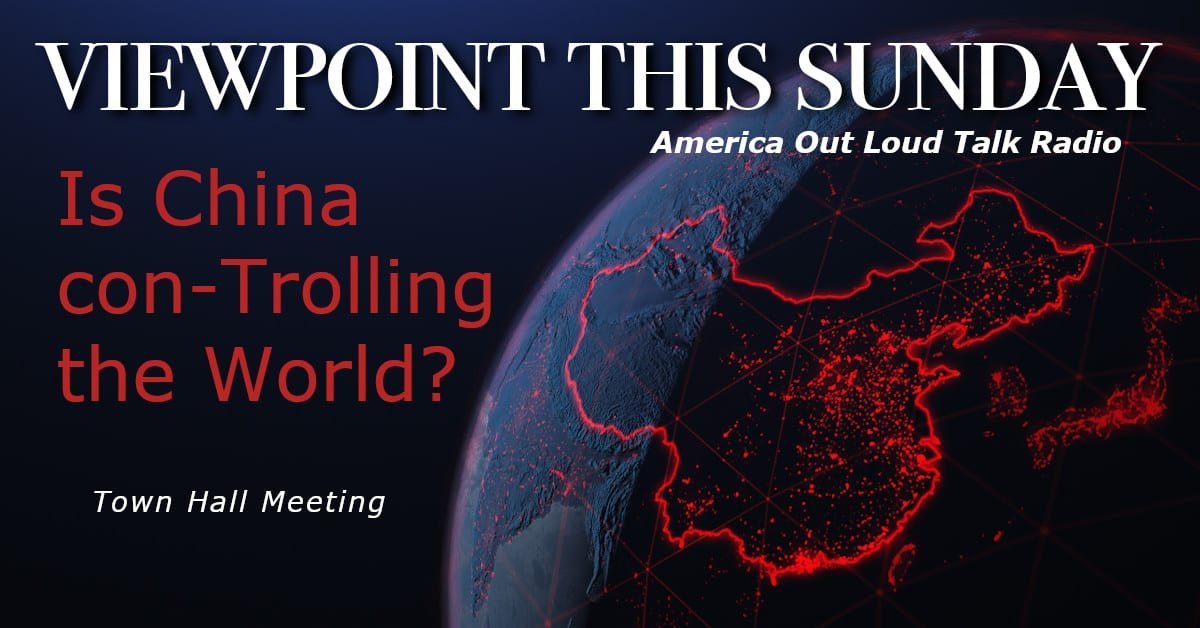 ? Is China con-Trolling the World? Viewpoint Town Hall