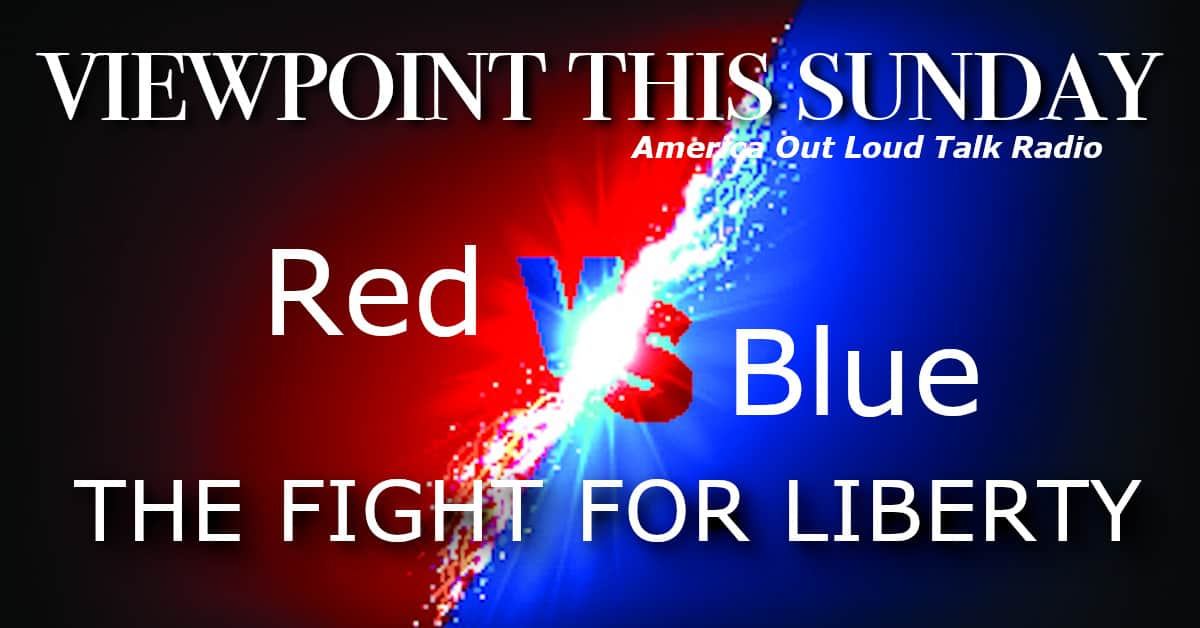 ? The Fight For Liberty: Red vs Blue