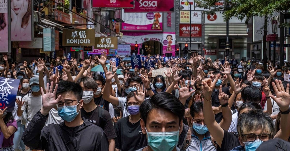 Hong Kong: The Next Salvo in China's War Against the World