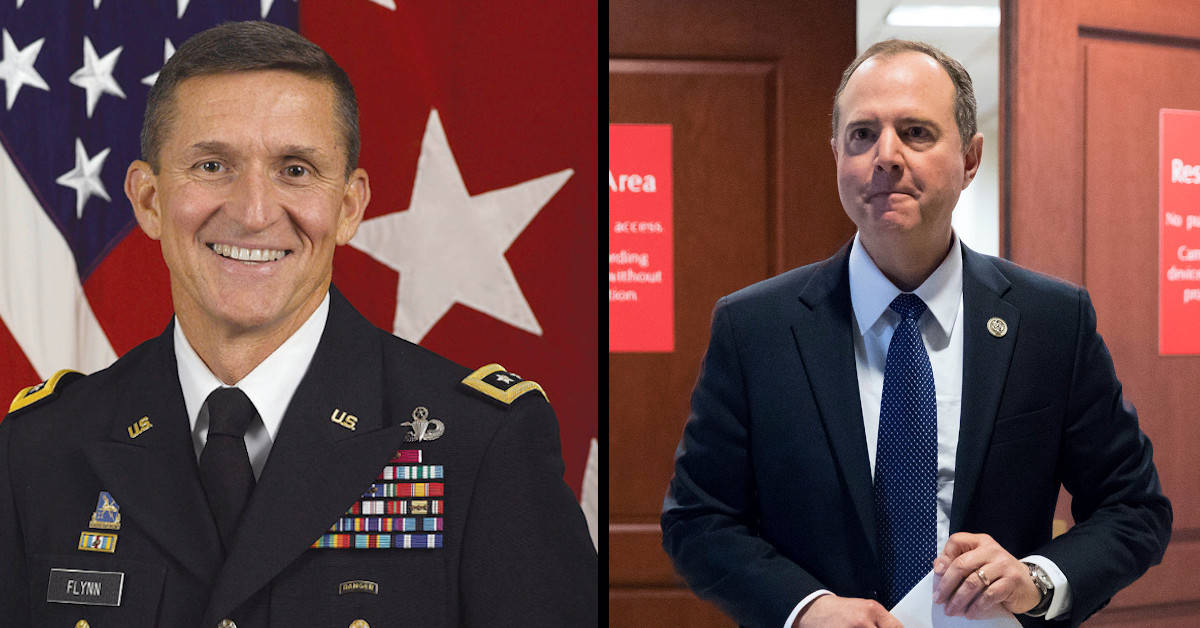 The Difference Between General Flynn and Adam Schiff