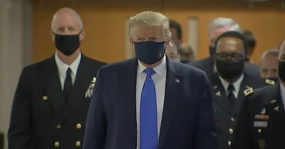 ? Unmasking the Politics Behind President Trump's New Policy on Mask Wearing
