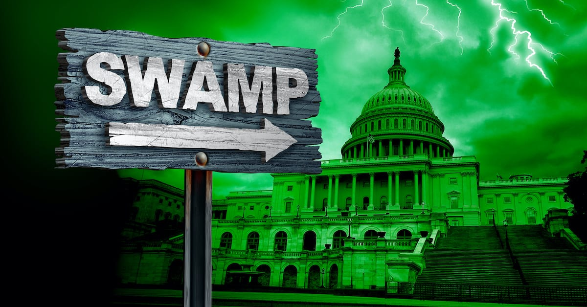 Swamp Draining Starts With Trump's2020 Congressional Reform Act