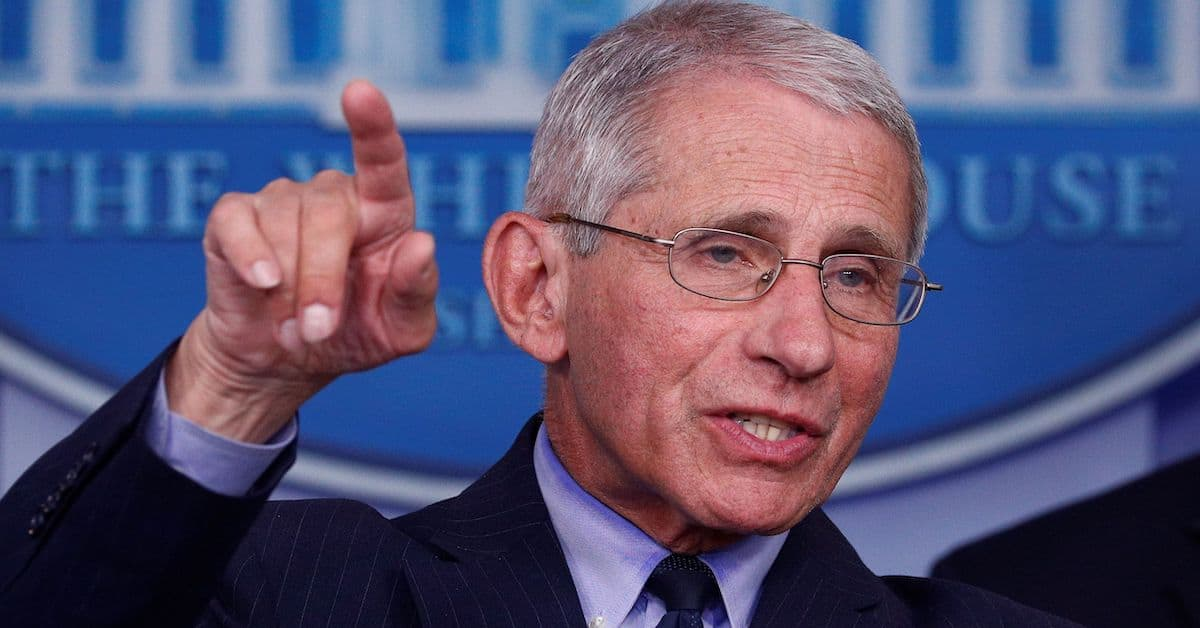 It Is Time For Anthony Fauci To Go Under The Microscope
