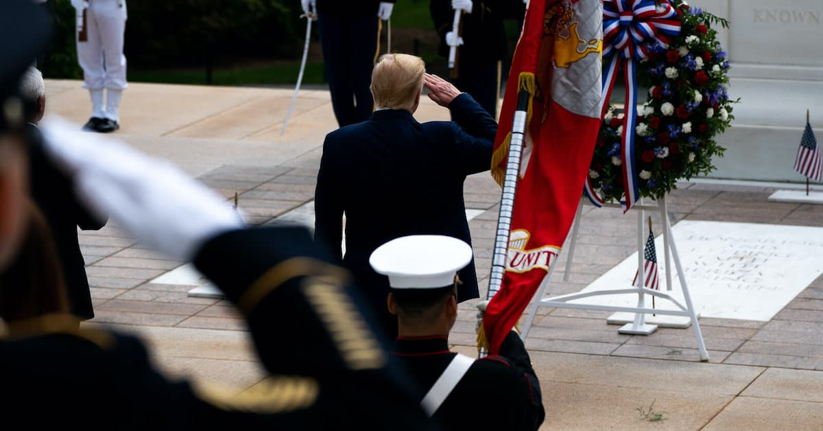 President Trump and His Respect For US Military
