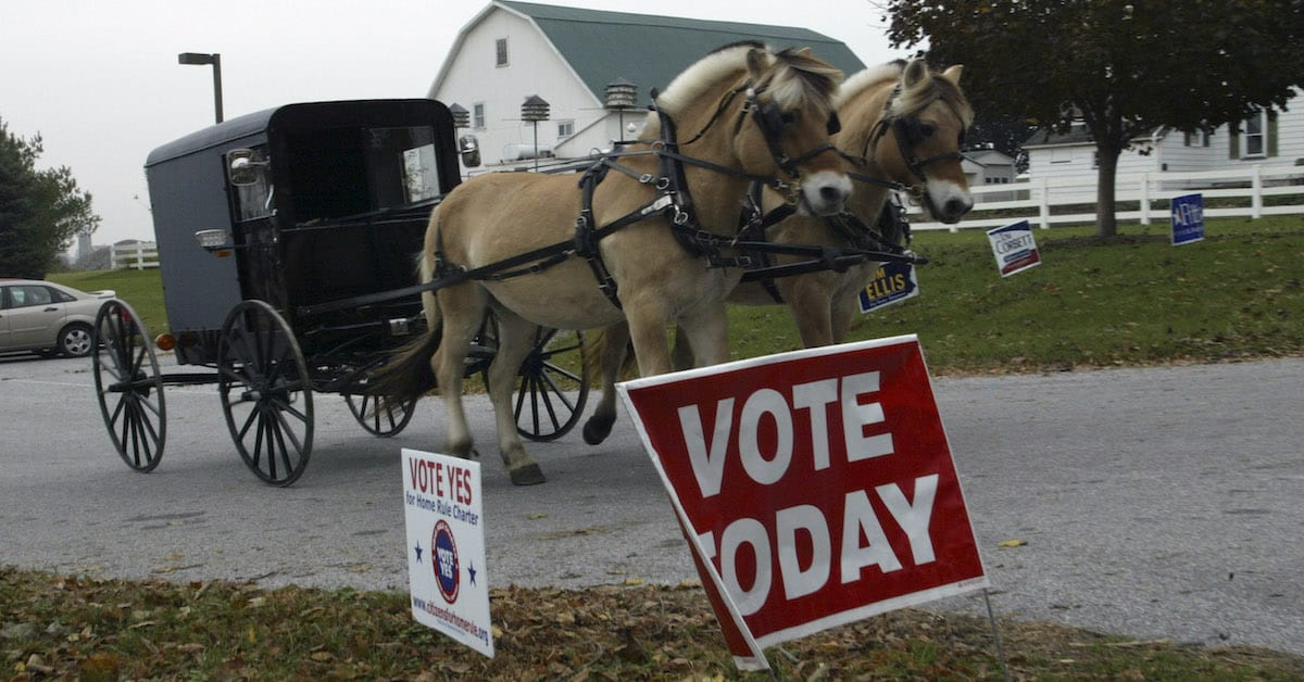 Will The AMISH PAC Swing Pennsylvania & Ohio For Trump?