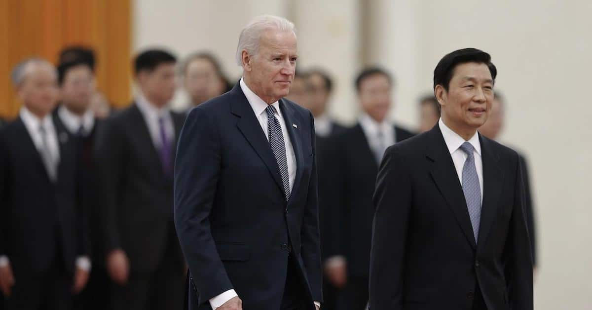 China has Everything They Need on Joe Biden to Control the Narrative