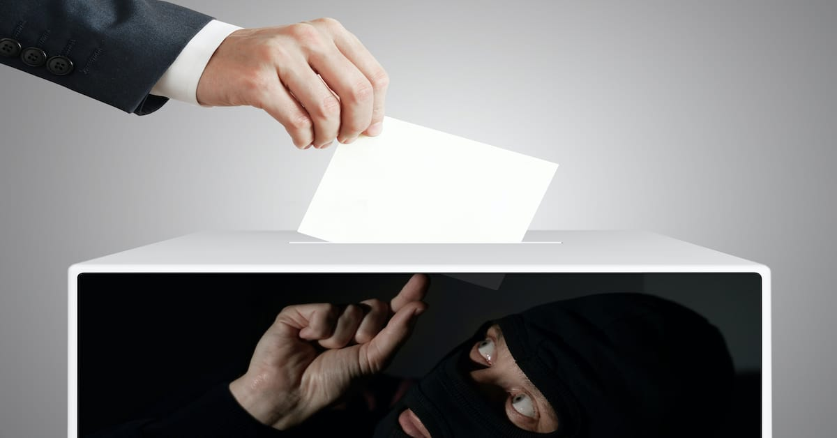 Voter Pickpockets Steal Our Votes