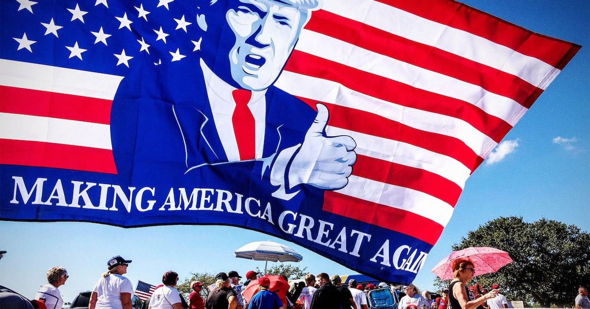 President Trump Scored Overwhelmingly for America