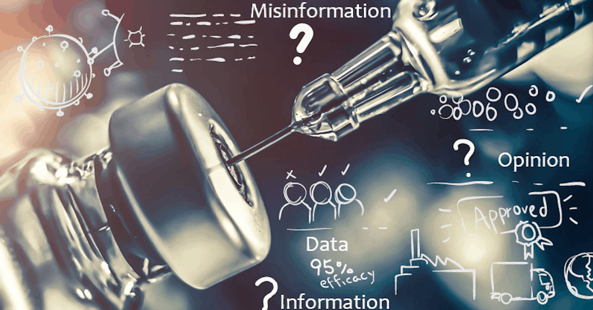Data, Information, Misinformation, and Opinions on COVID-19