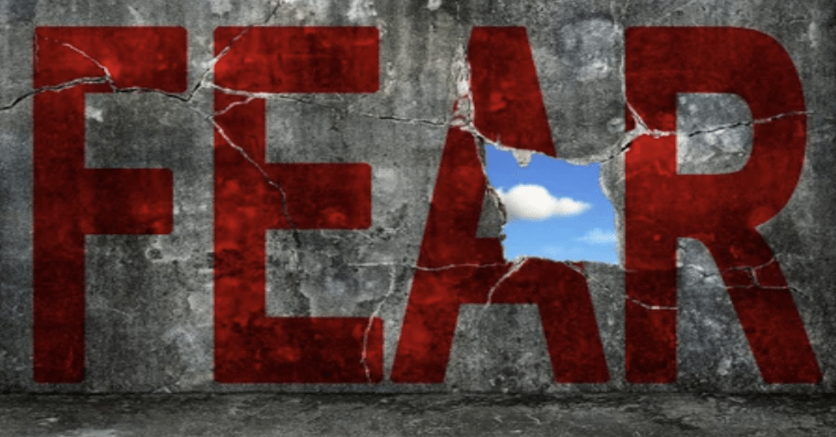 """""""Fear is the foundation of most government."""" – John Adams"""