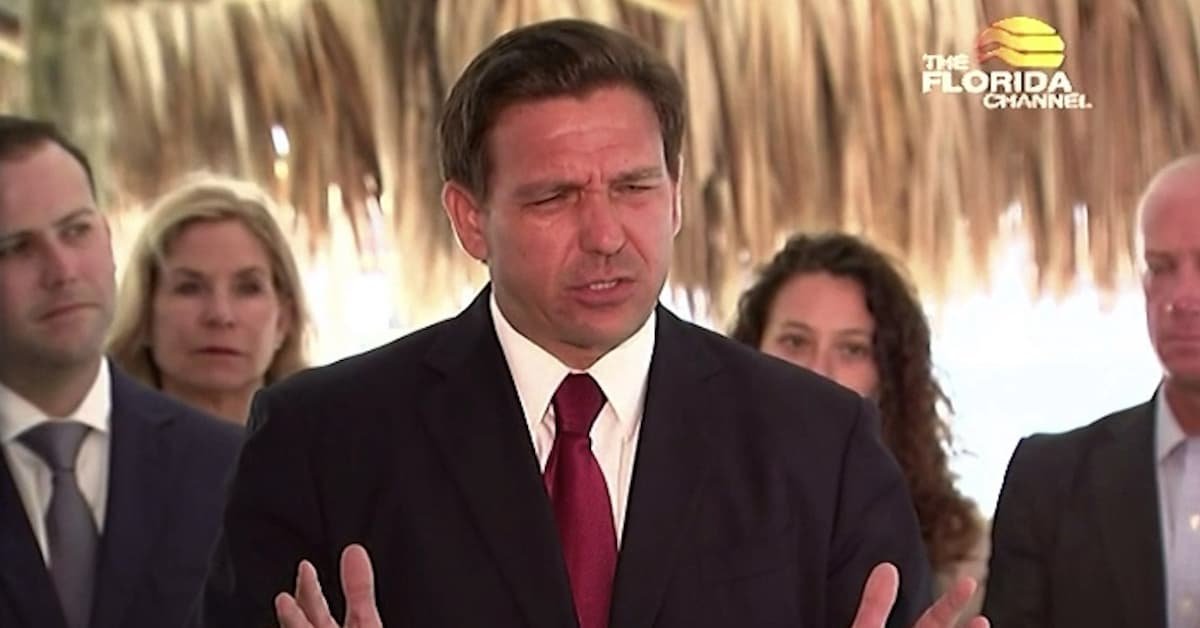 Florida Governor's Pen Is Mightier Than The Sword