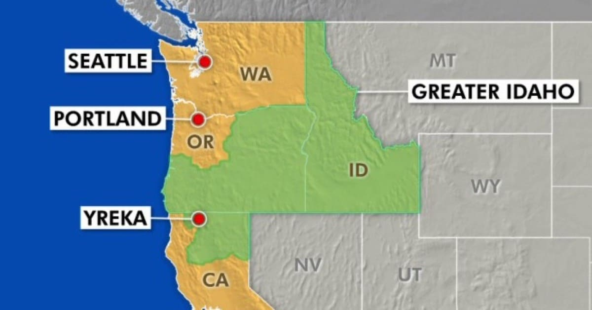 To Secede, or Not To Secede, That is the Question for Oregon and Idaho