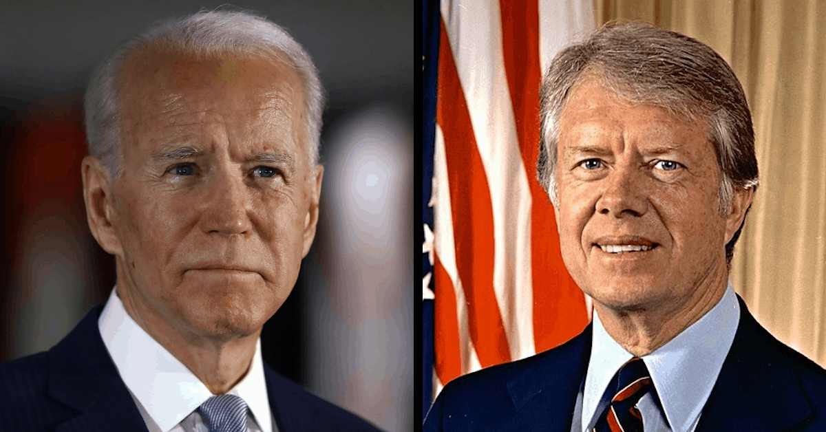 Biden's Trajectory Is On Track to Eclipse Carter's Failed Legacy