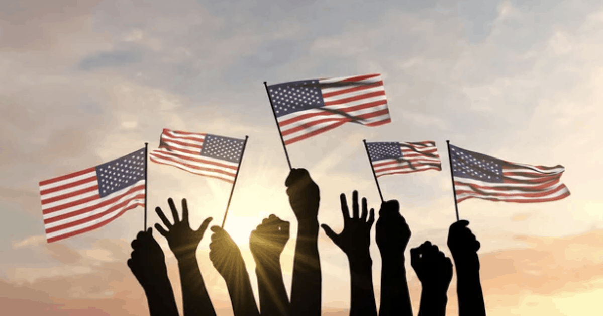 Our American Flag Symbolizes Freedom and Hope, Not Hate