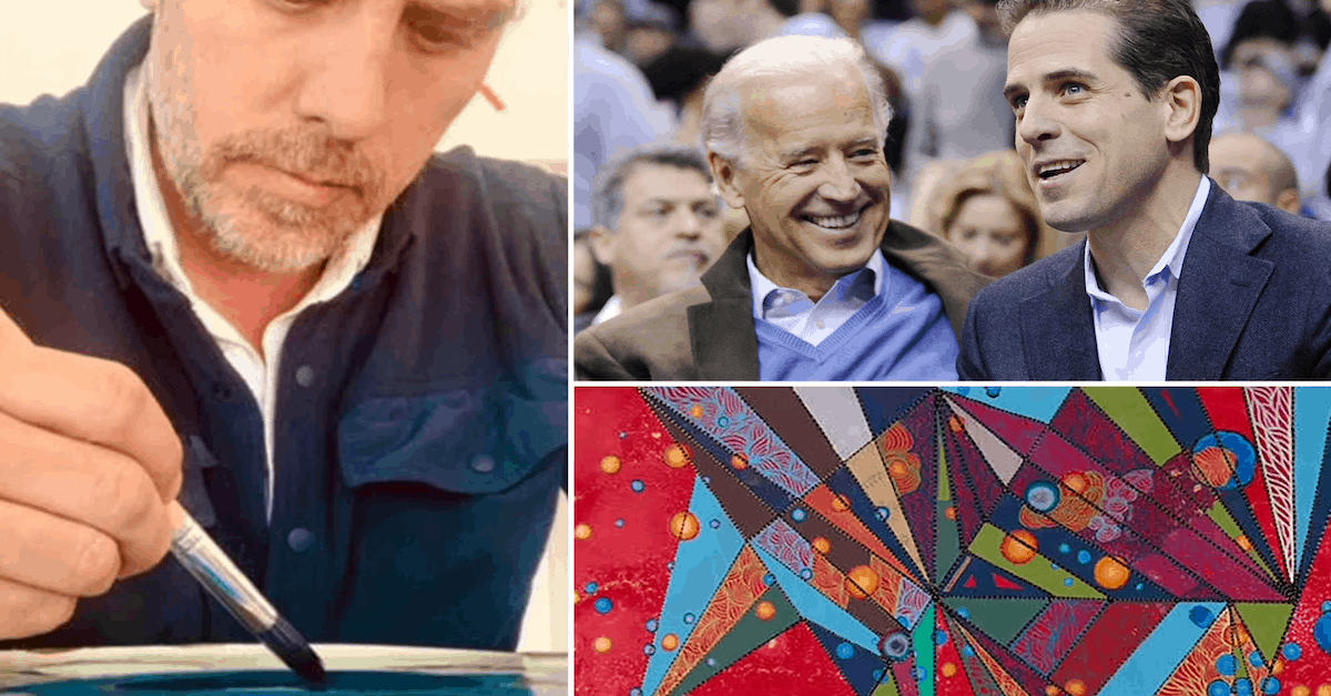 He's No Picasso, But Being a Biden Does Have Privileges