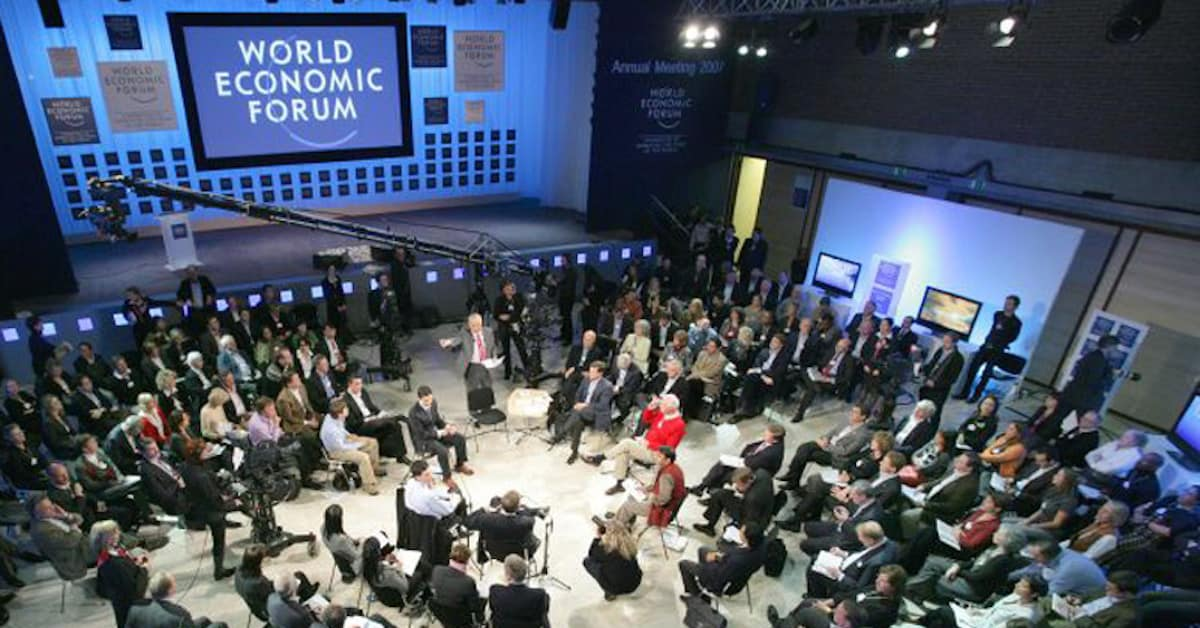 The Davos Crowd and the Perfect Storm
