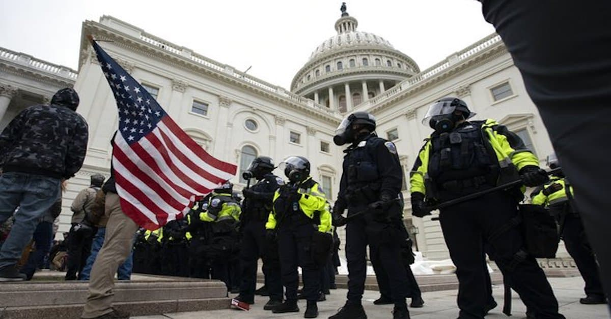 The US Capitol Police Are Becoming America's New Secret Stasi