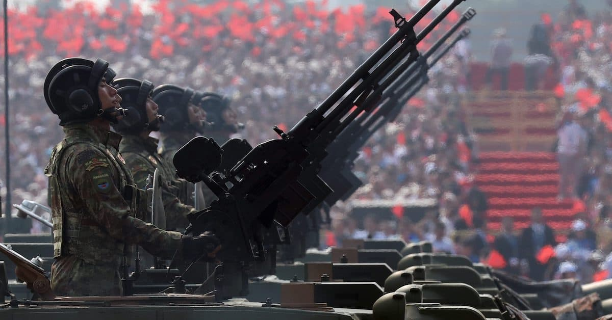 A Strategic Weapons Buildup by China Threatens World Balance