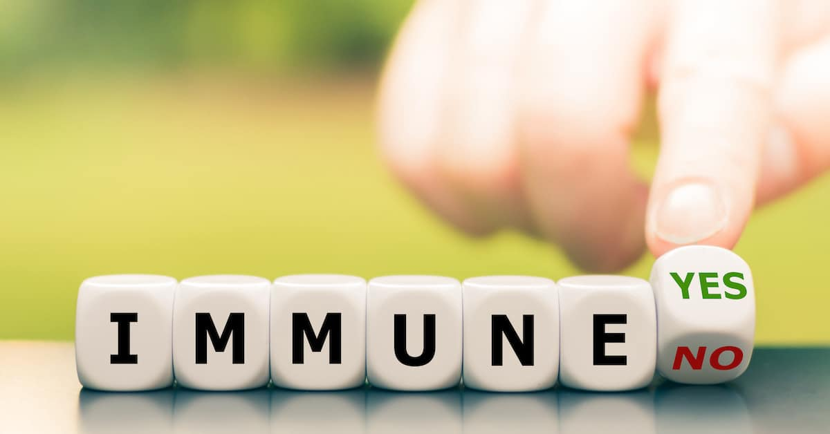 The Effectiveness of Natural Immunity