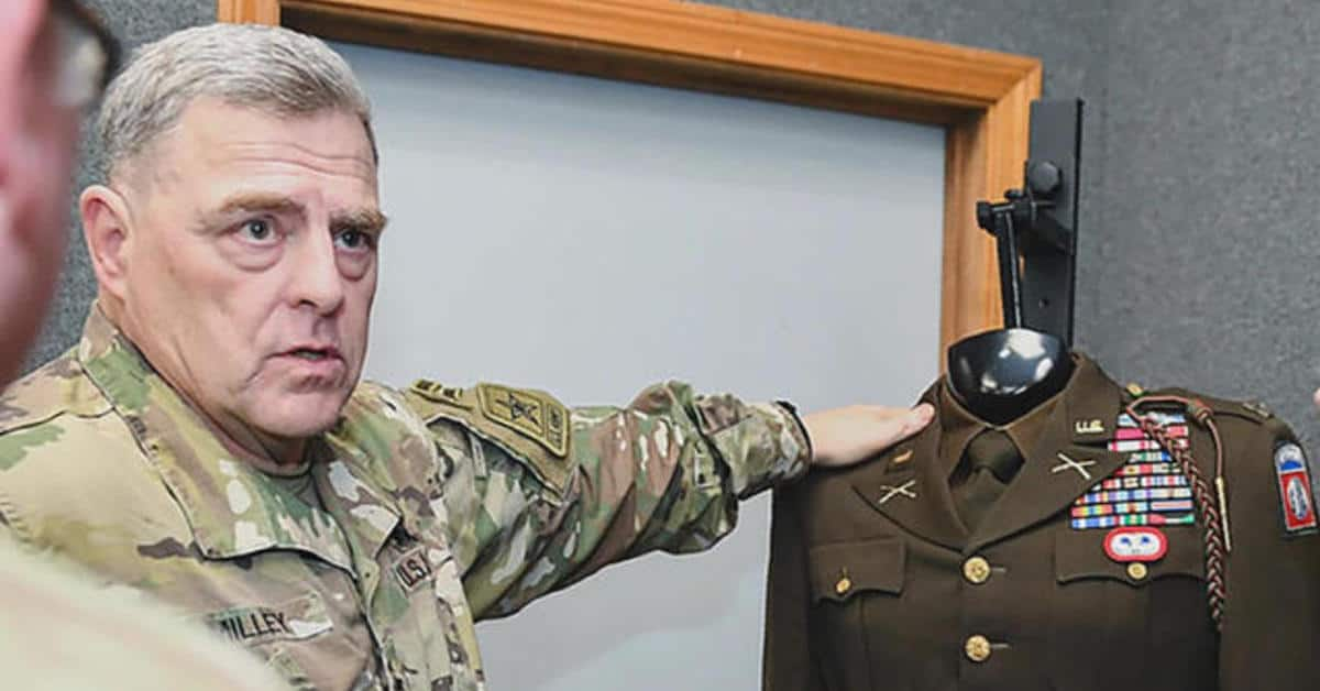 The Retro WWII Uniform Just Doesn't Fit General Milley
